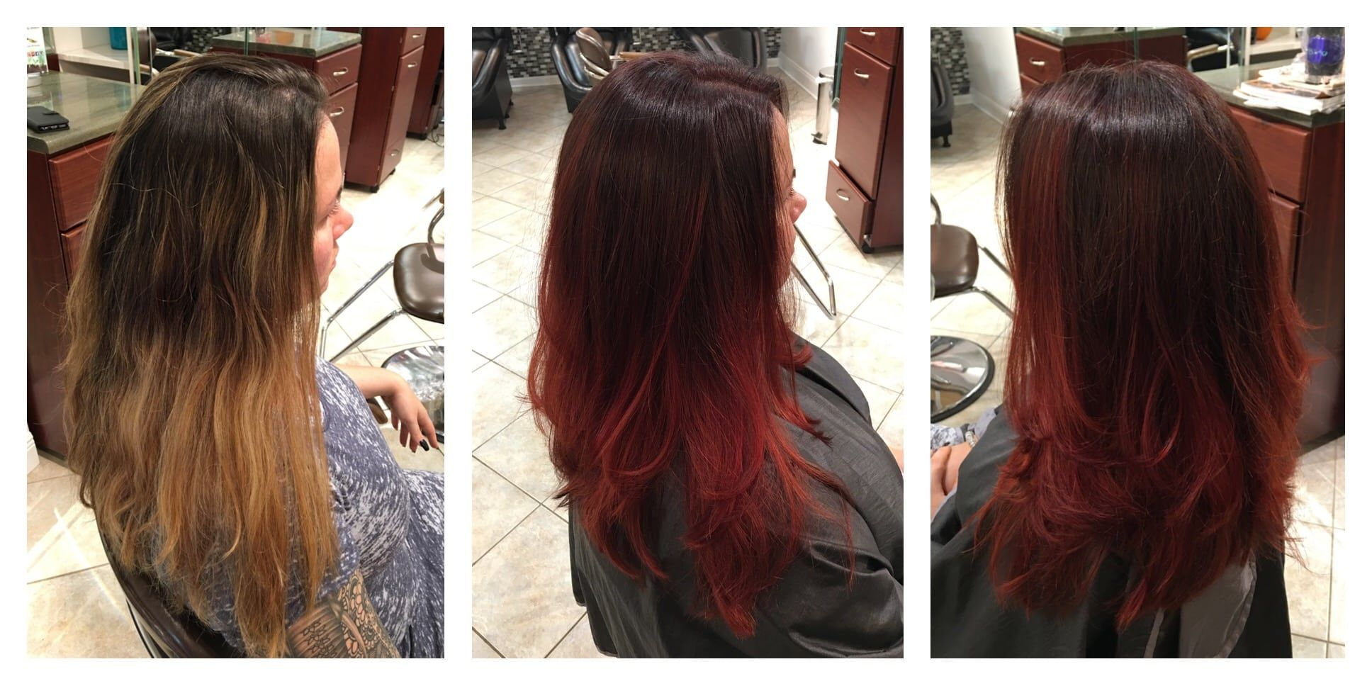 Full Color / Ombre / Cut / Style