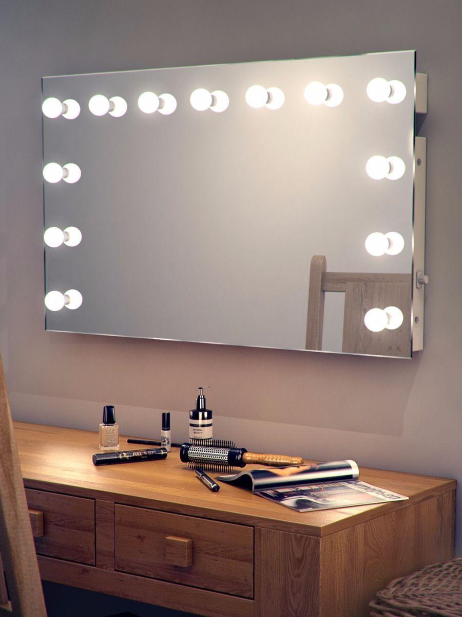 H 600 X W 1000 X D 45mm Marianne Hollywood Mirror 91
