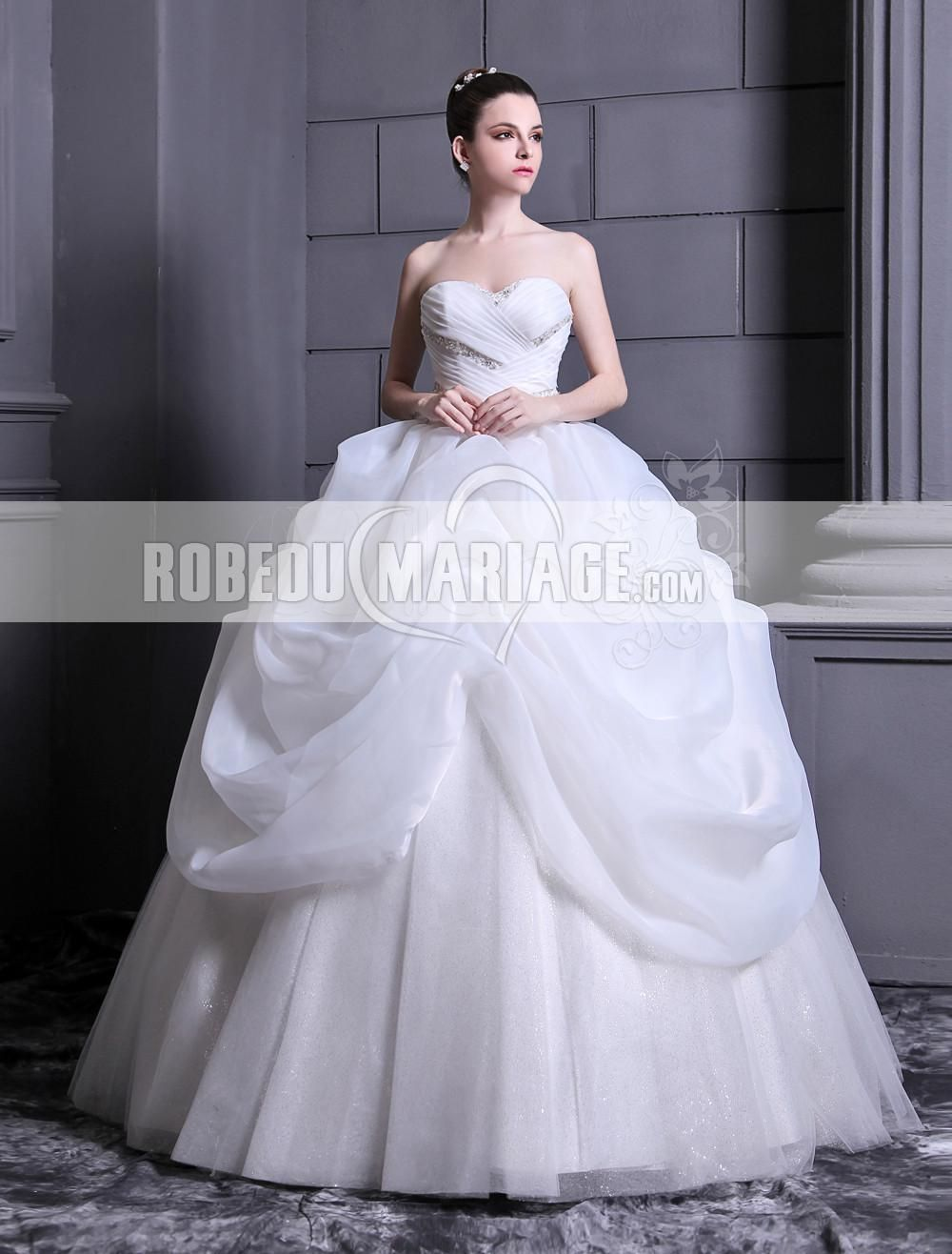 nouvelle robe de mariage princesse pas cher l gante prix. Black Bedroom Furniture Sets. Home Design Ideas