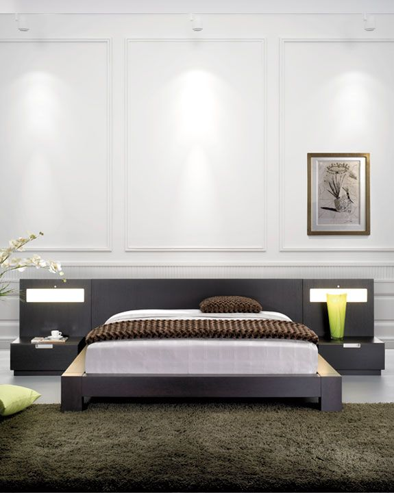 Faro Modern Bedroom Set: Mobican Stella Is Available In 9 Different Wood Color