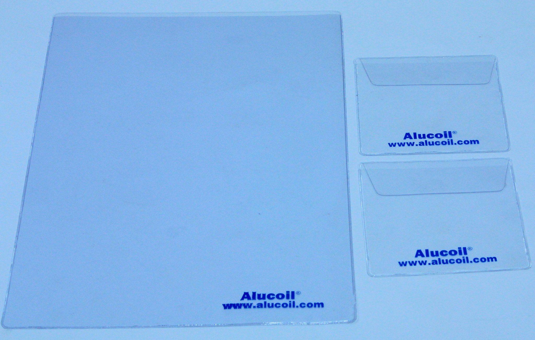 Última entrega para la multinacional Alucoil del Grupo Aliberico , unas #fundas #personalizadas .