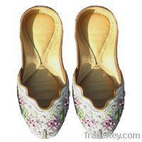 Sell Indian Bridal Shoes Wedding Womens Khussa Flat Sh Indiancraftsitems