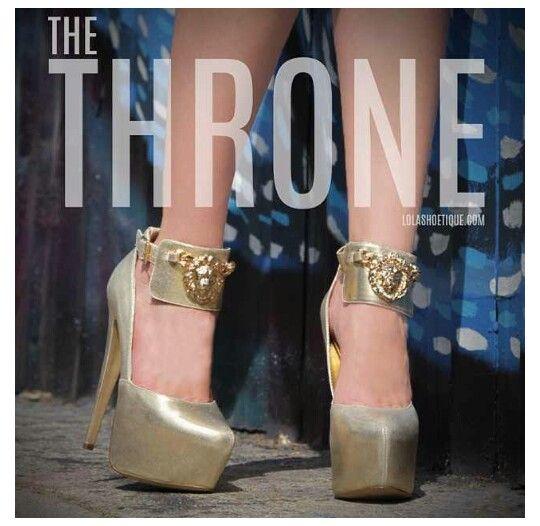 The Throne @lolashoetique.com