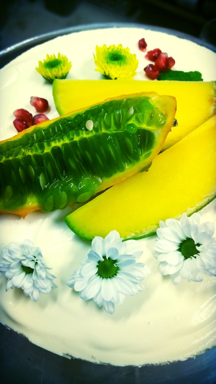 Mango juustokakku