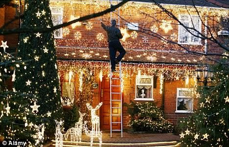 Back Safety While Decorating for the Holidays.
