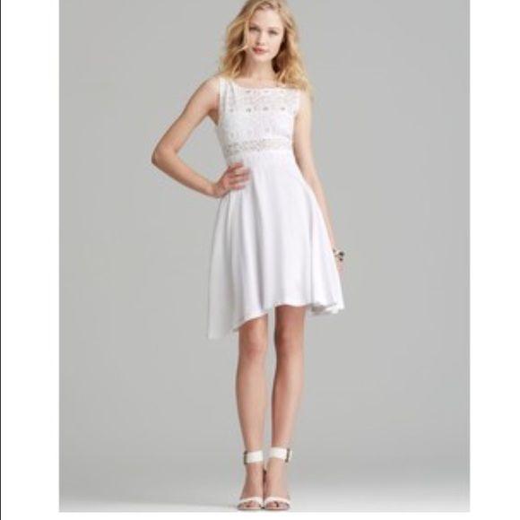 Bb Dakota White Lace Dress White Lace Dress Worn Once Bb