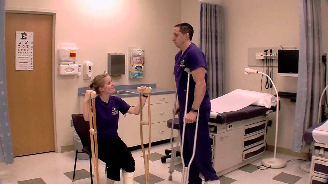 Crutches 101 HIP SURGERYRISE TO VICTORY Crutches