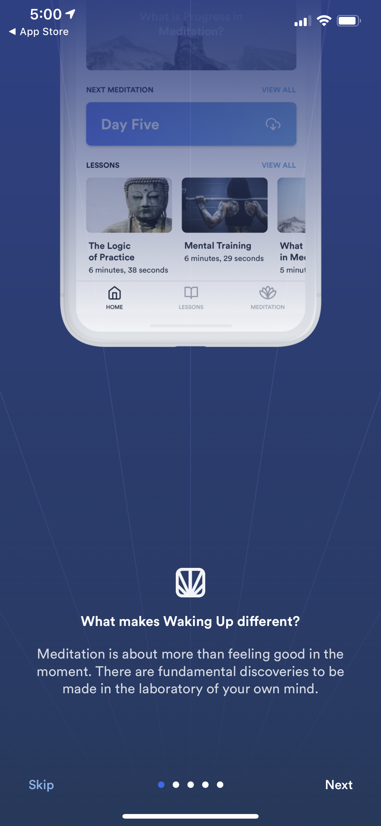 Pin by Oz Lubling on mobile interfaces Meditation apps