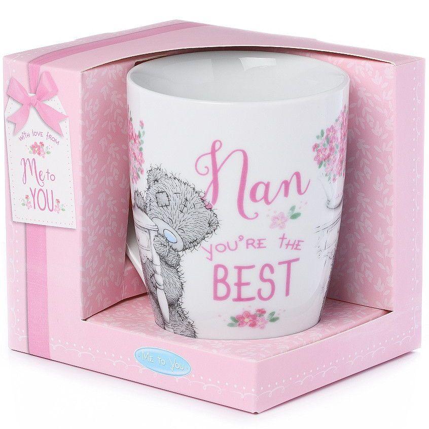 Me to you best nan mug tatty teddy nan mug gift