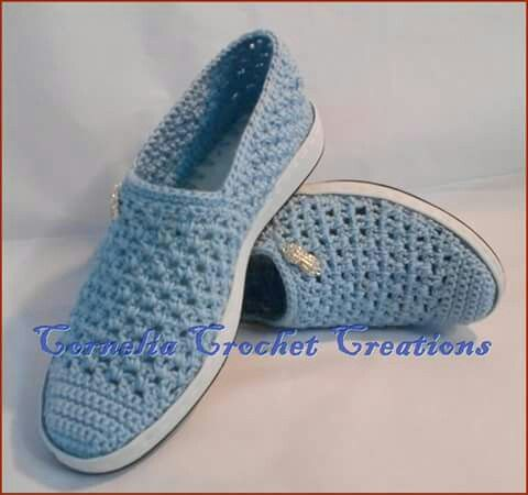 Pin von Irma Ivonne auf 2 Zapatos tejidos, sandalias, etc from web ...