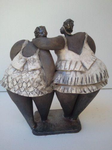 un peu de complicite sculpture personnages pinterest poterie sculpture et raku. Black Bedroom Furniture Sets. Home Design Ideas