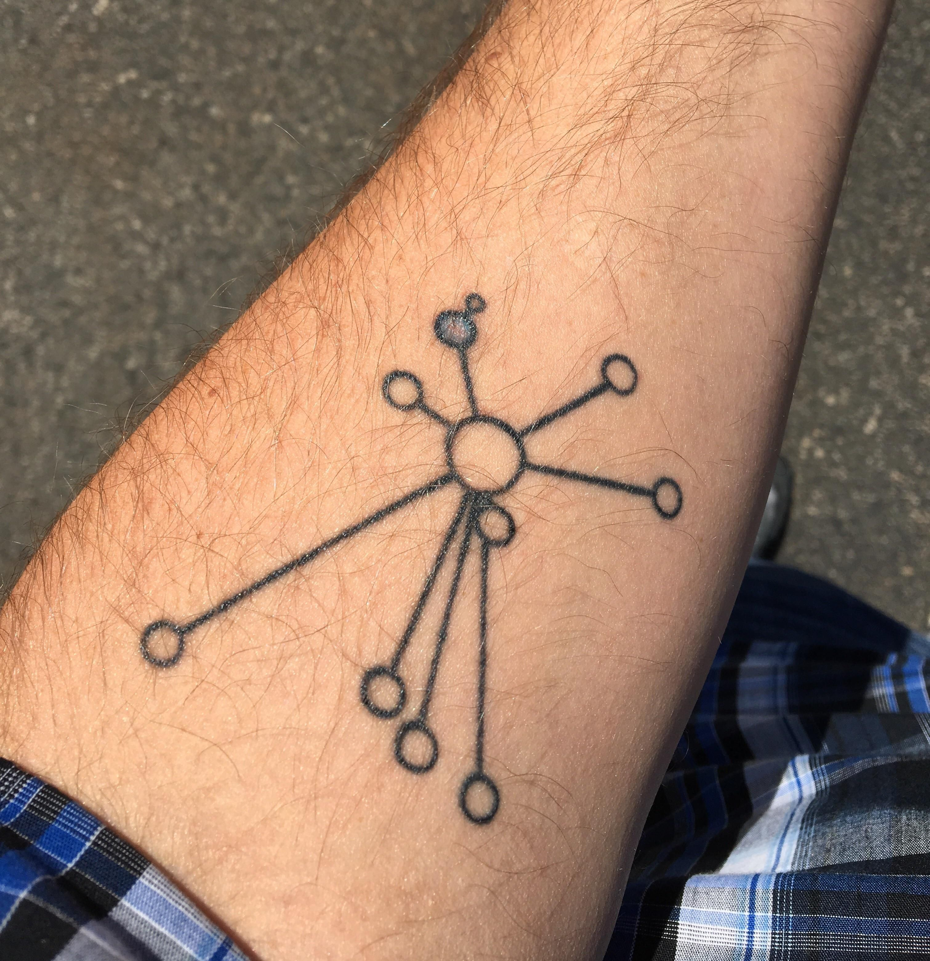 20+ Pulsar Map Tattoo Pictures and Ideas on Meta Networks