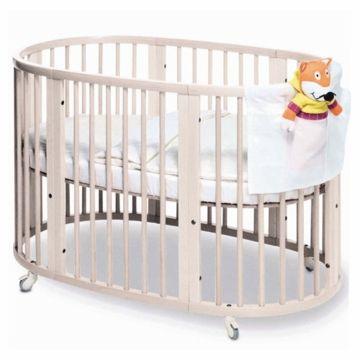 Stokke Sleepi Crib in White with FREE Colgate Foam Mattress