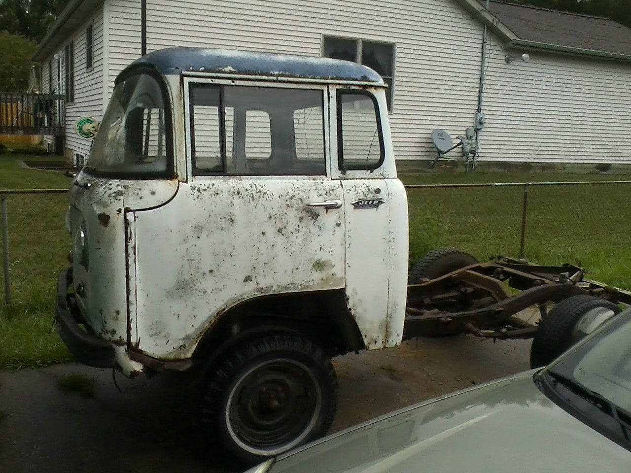 1964 Jeep FC 150.  This thing is awesome, it looks like a miniature semi without the pickup box! It is Four Wheel Drive too!