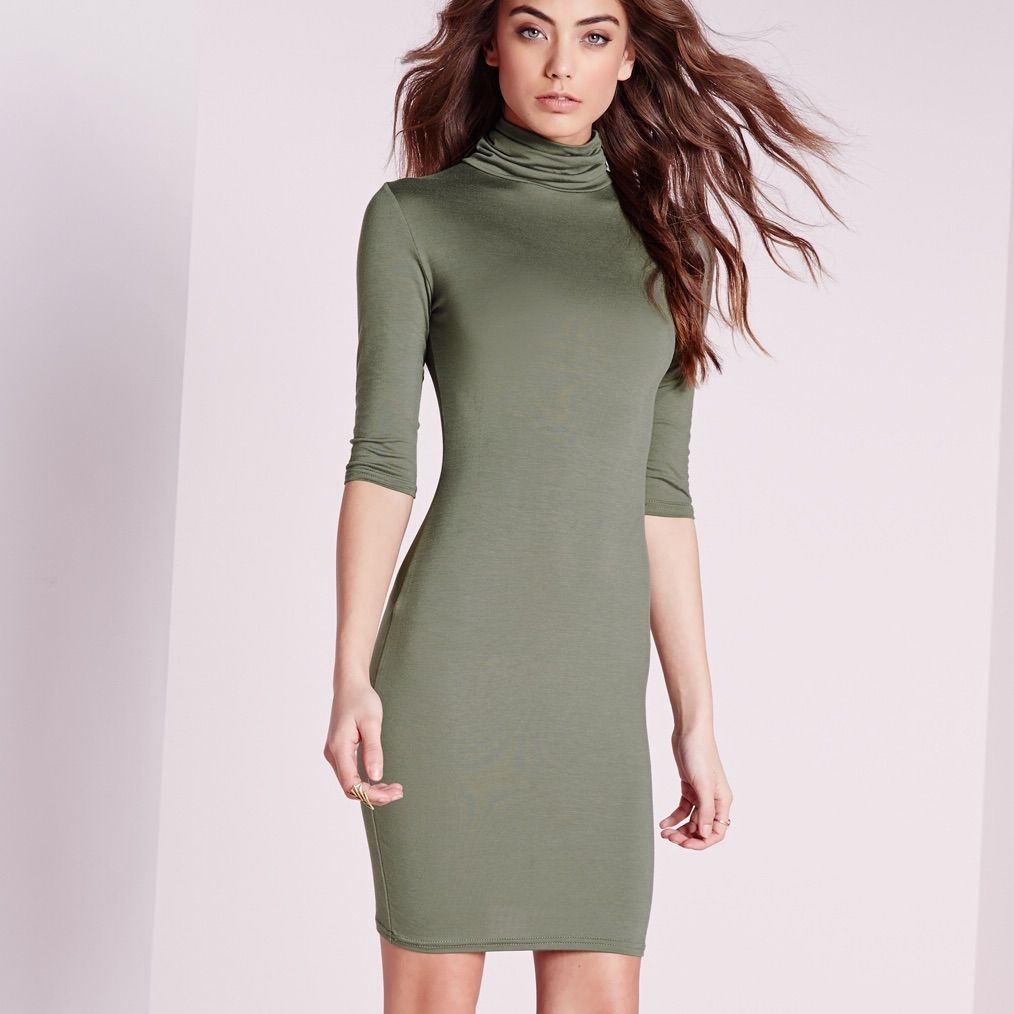 Missguided roll neck dress roll neck dress and products
