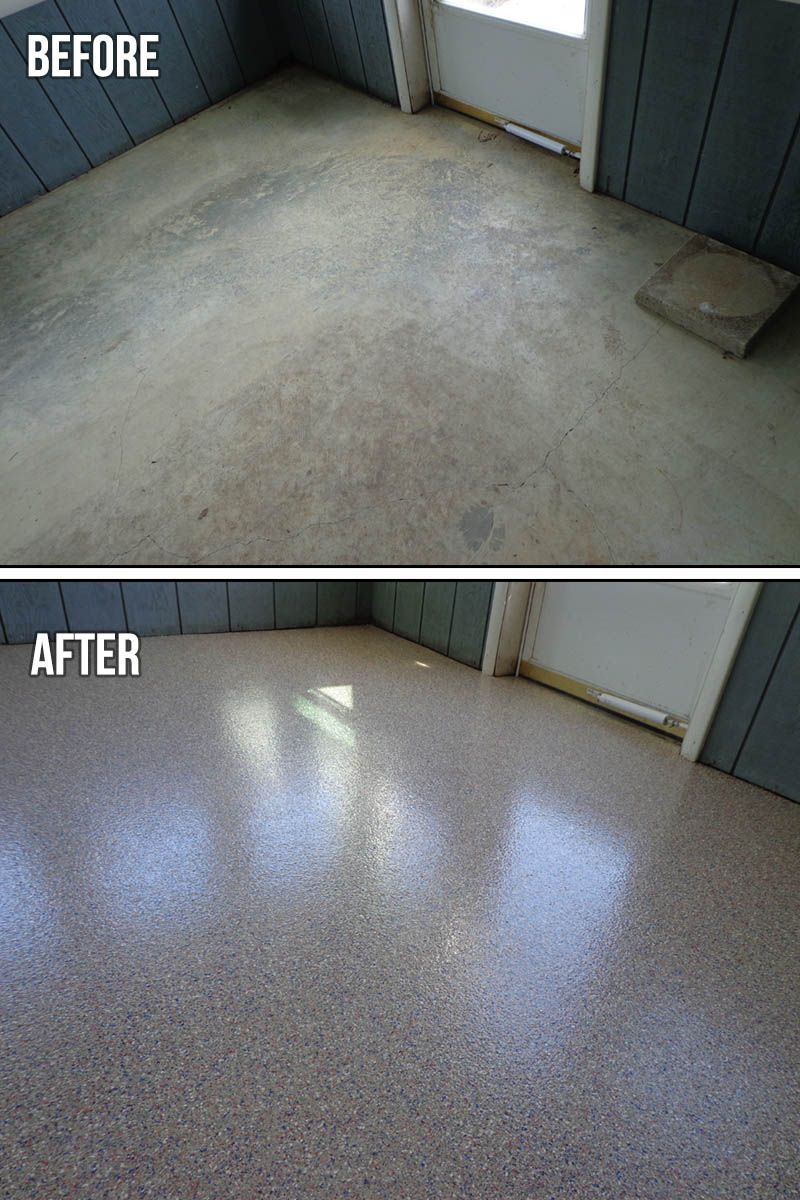 Epoxy Garage Floor Coating Epoxy Flake System Garage Floor