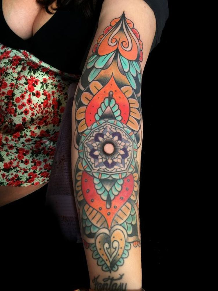 3321bc44b a list with 50 of the most beautiful mandala tattoo designs we've seen and