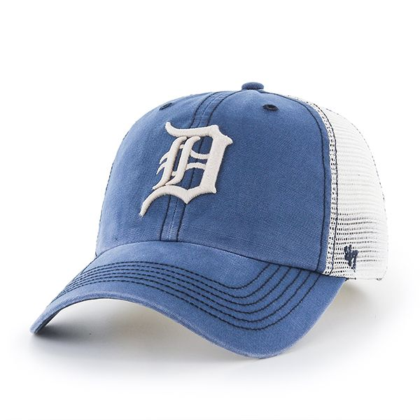 size 40 51418 01d71 ... Navy Natural Santa Lucia Clean Up Adjustable Hat. Detroit Tigers 47  Brand Dyer Rockford Mesh Stretch Fit Hat