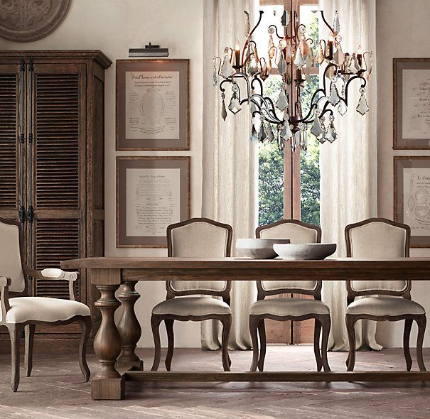 Large Size Of Marble Dining Om Table Restoration Hardware: Florian Mercury Glass Chandelier Large - RH