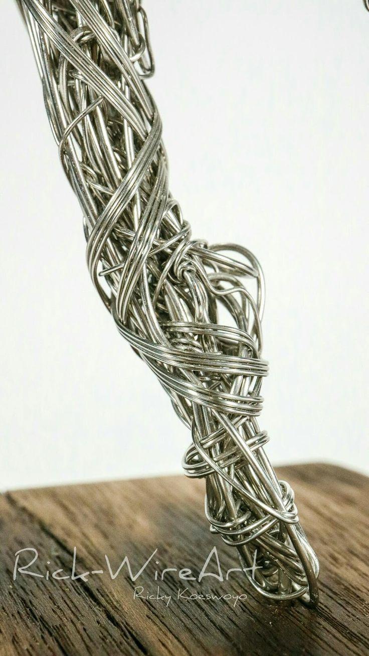 rick wire art, wire art, wire craft, wire sculpture, sculpture ...