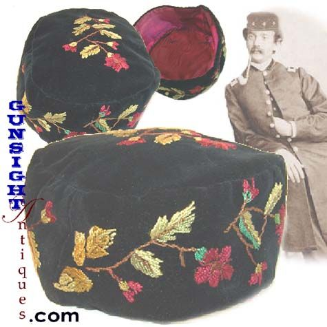 825fc878 Civil War era SMOKING CAP - I think you should get Dave to make you one!