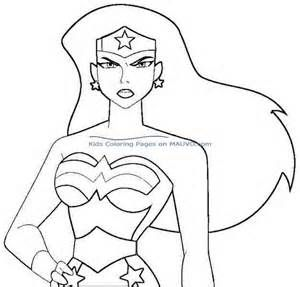 wonder woman coloring pages - - Yahoo Image Search Results