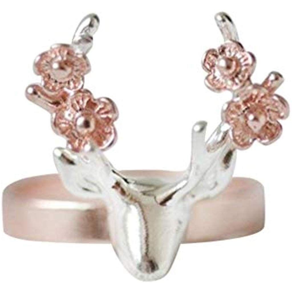 Cdoston Ringe Damen Netter Elefant Legierungs Ring Ausgefallene Ringe Schmucksache Cocktailparty Geburtstagsgeschenk Ring Schmuck Geschenk
