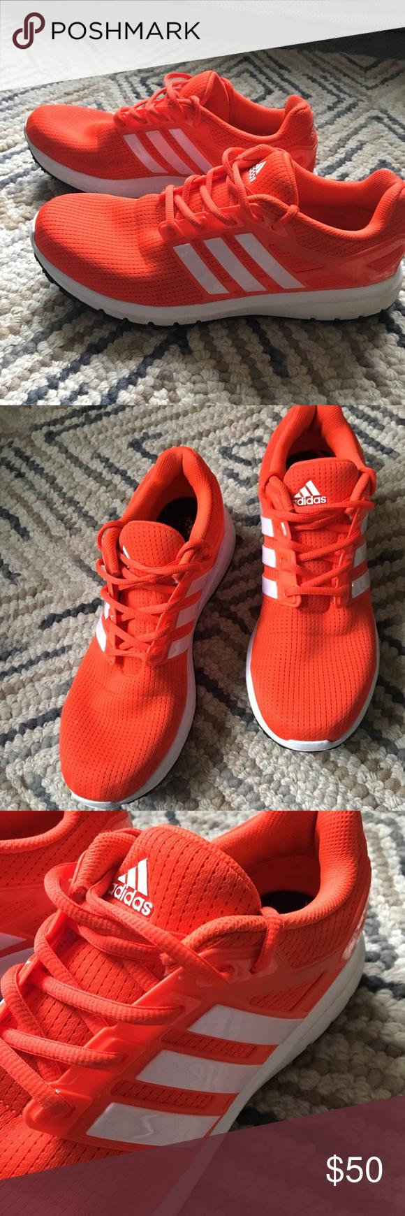 bright orange adidas shoes online -