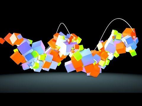 Cinema 4d Tutorial - How to Animate Objects along a Spline in Cinema 4D - YouTube