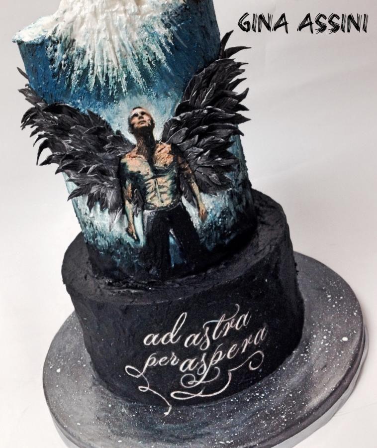 Ad Astra Per Aspera By Gina Assini Cakes Cake Decorating Daily