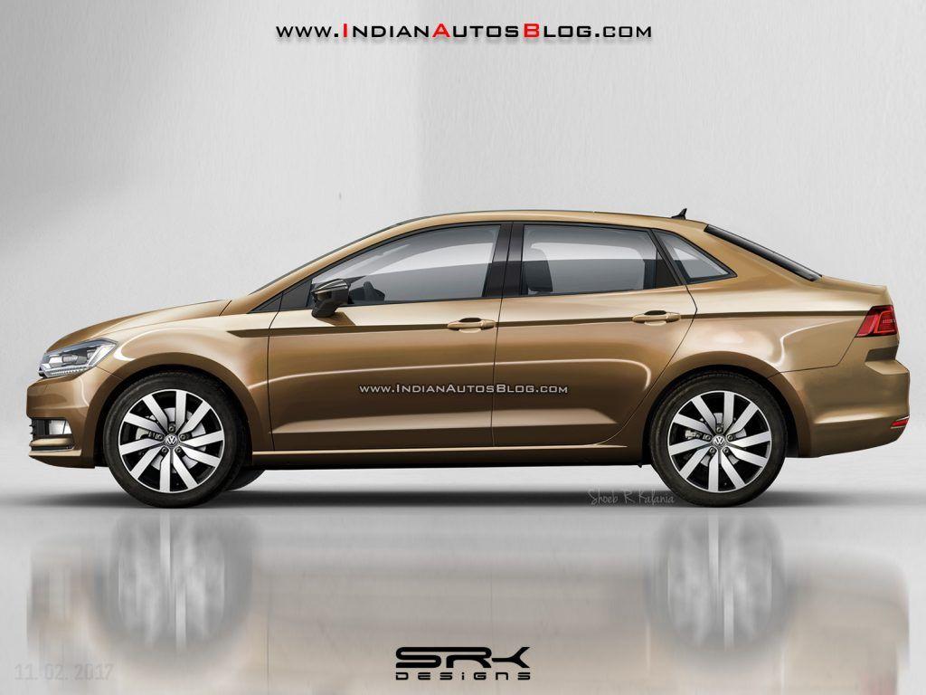 Vw Vento Vw Polo Sedan Rendering Cars Daily