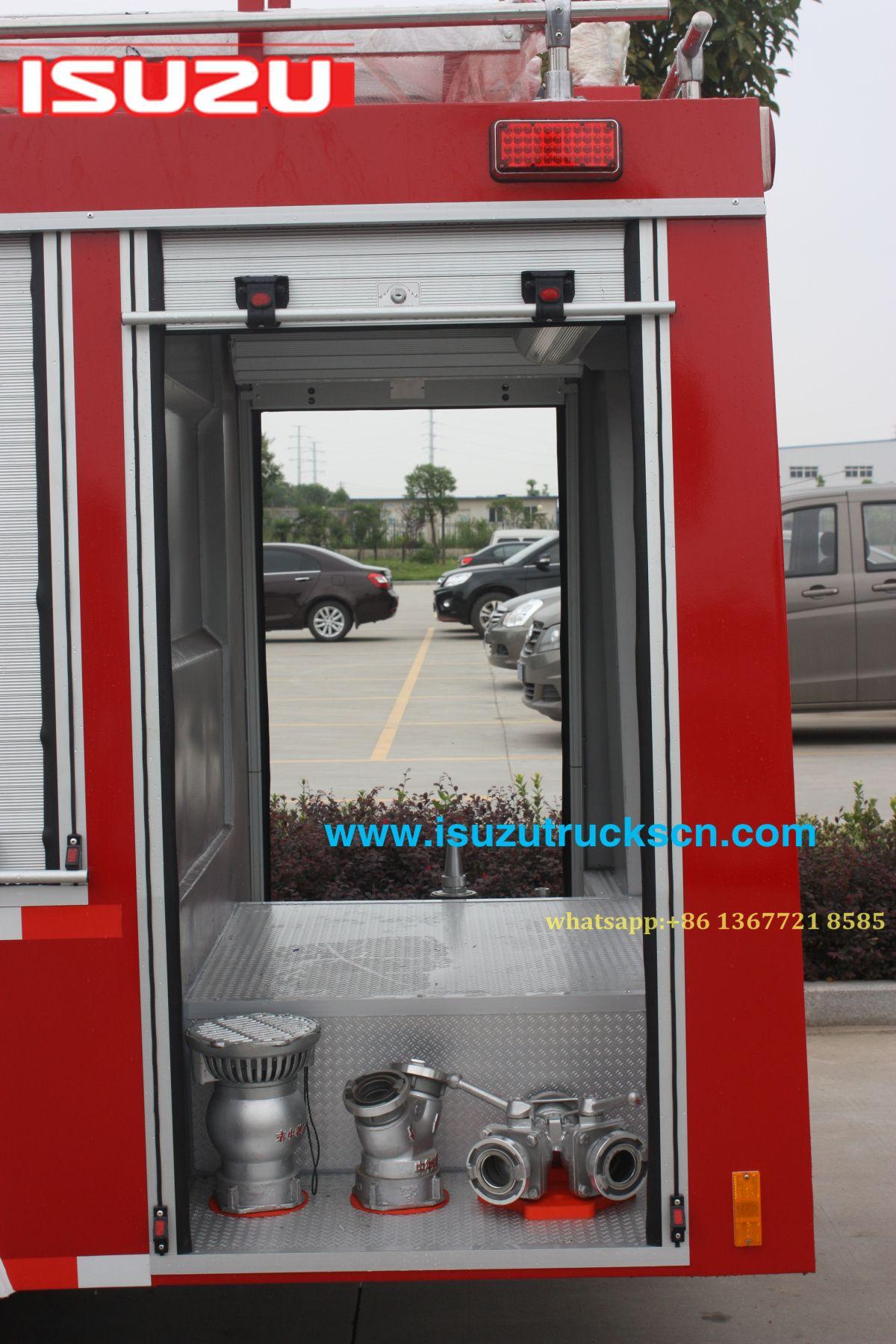 Philippines custom made ISUZU Fire Water Tank Truck, Fire