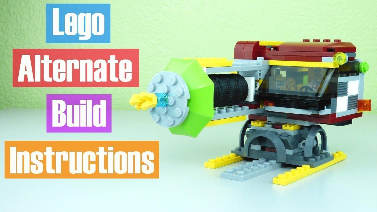 Lego Pizza Van 60150 Alternate Build Instructions Victor Loves