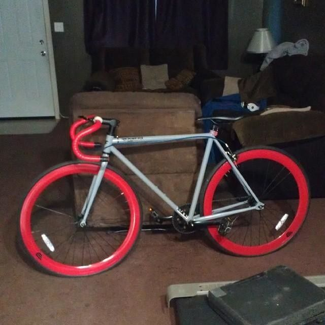 c1f985cf5af Original Fixed Gear Frameset | This Is My Bike Punk... | Fixed gear ...