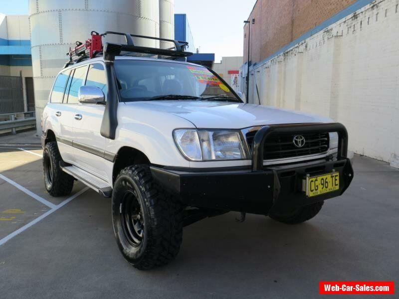 2001 landcruiser gxl