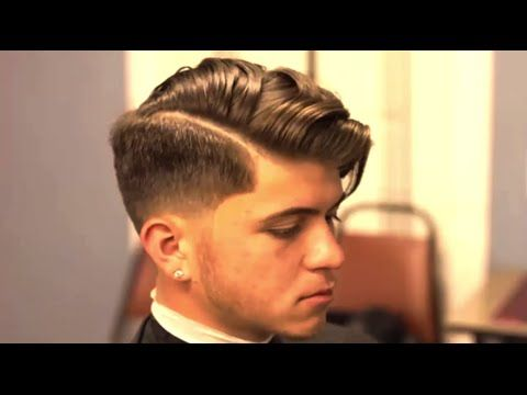 Hairstyles 2015 b Over Undercut Pompadour Hairstyle