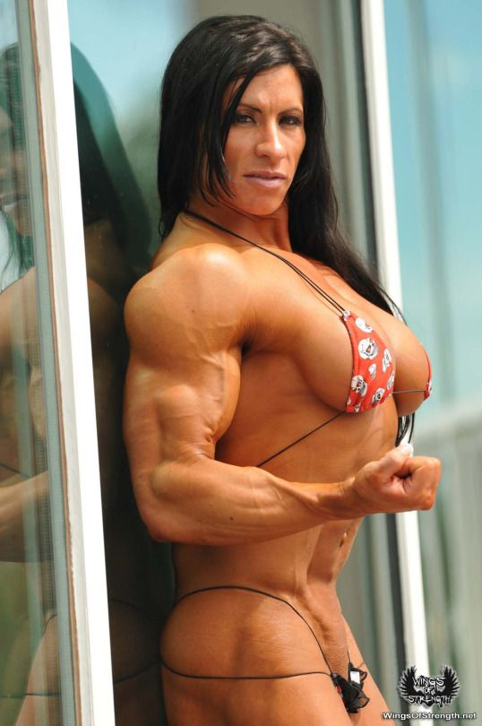 Erotic female muscle