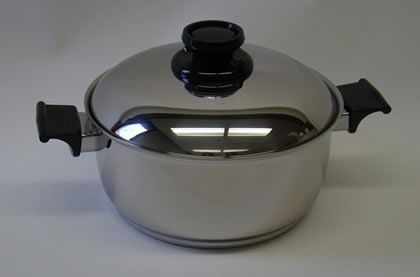 Regal Ware's 5 Quart Multiply Stainless Steel Covered