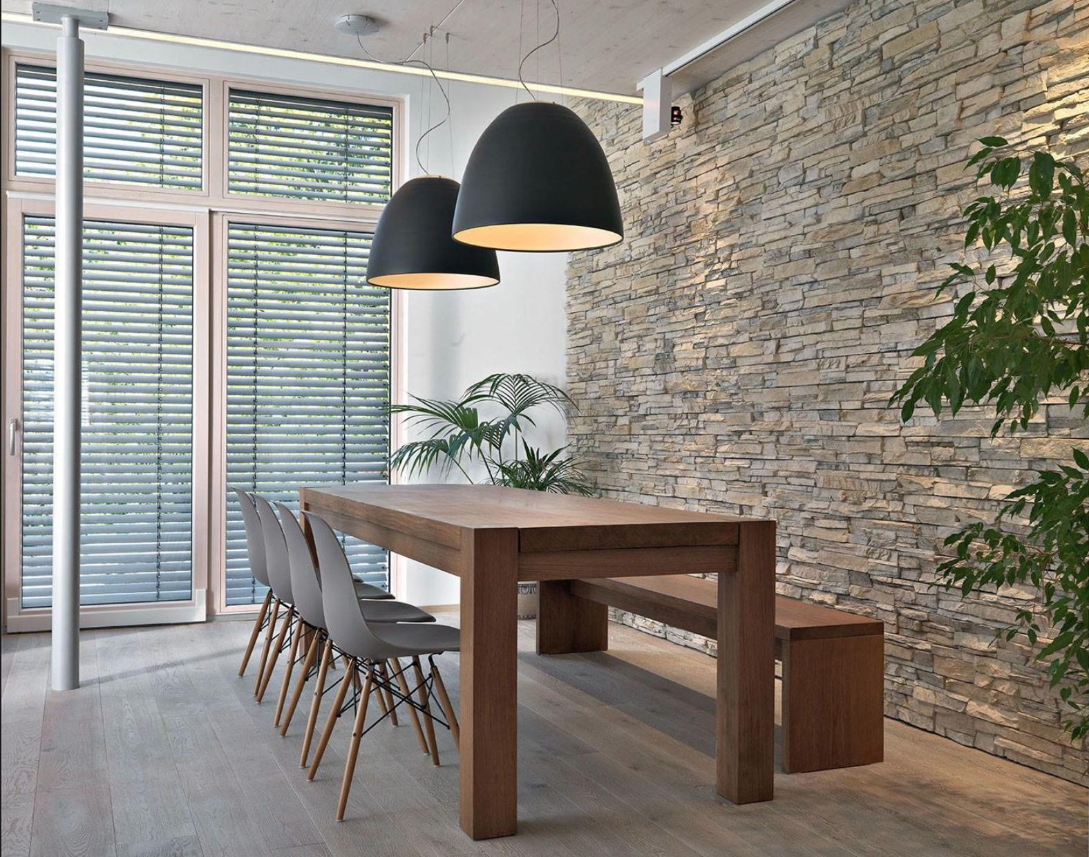 Steenstrips - Woonkamer | Pinterest - Tegels, Stenen en Muur