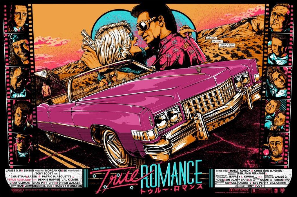 TrueRomance OddCity Variant 1024x682 True Romance   Limited Edition Matt Ryan Tobin Prints