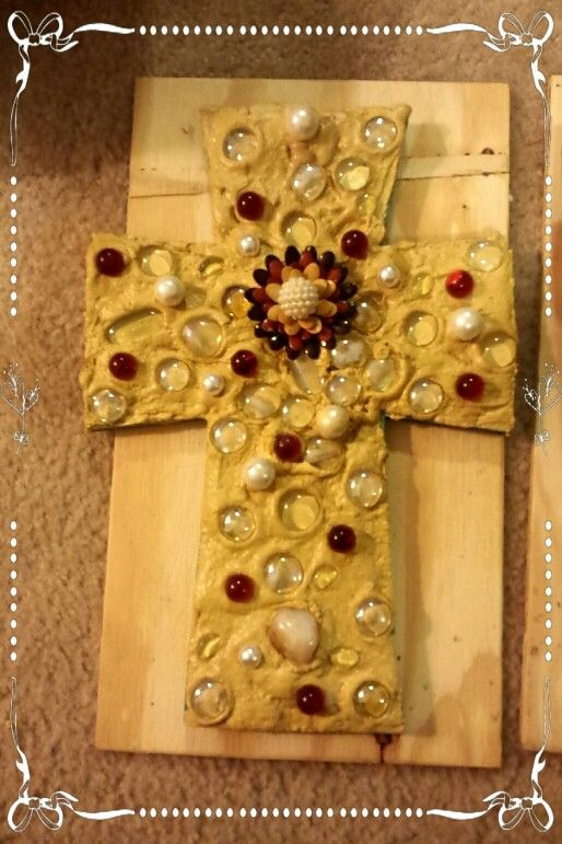 Cross made by Ms Bees painted furniture....follow me on fb