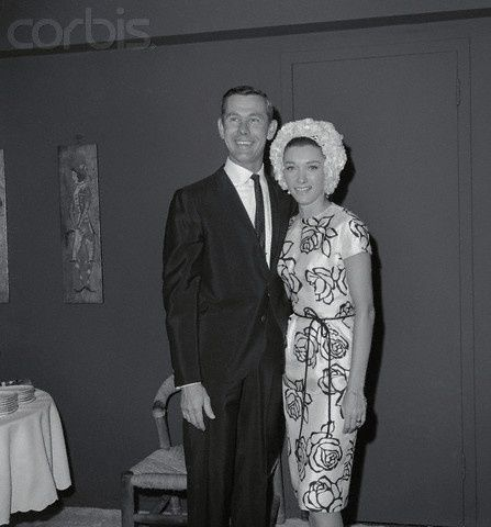 Johnny Carson and his second wife Joanne Carson