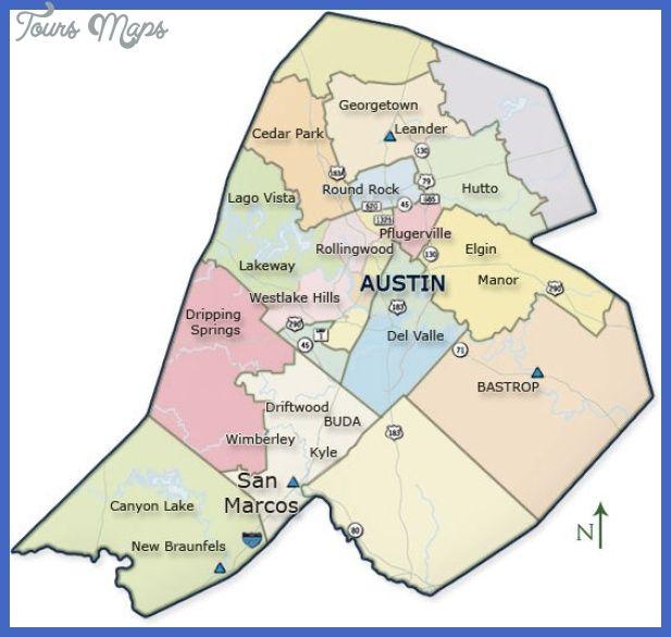 Map Of Texas Kyle.Cool Austin Metro Map Tours Maps Cedar Park Texas City Maps