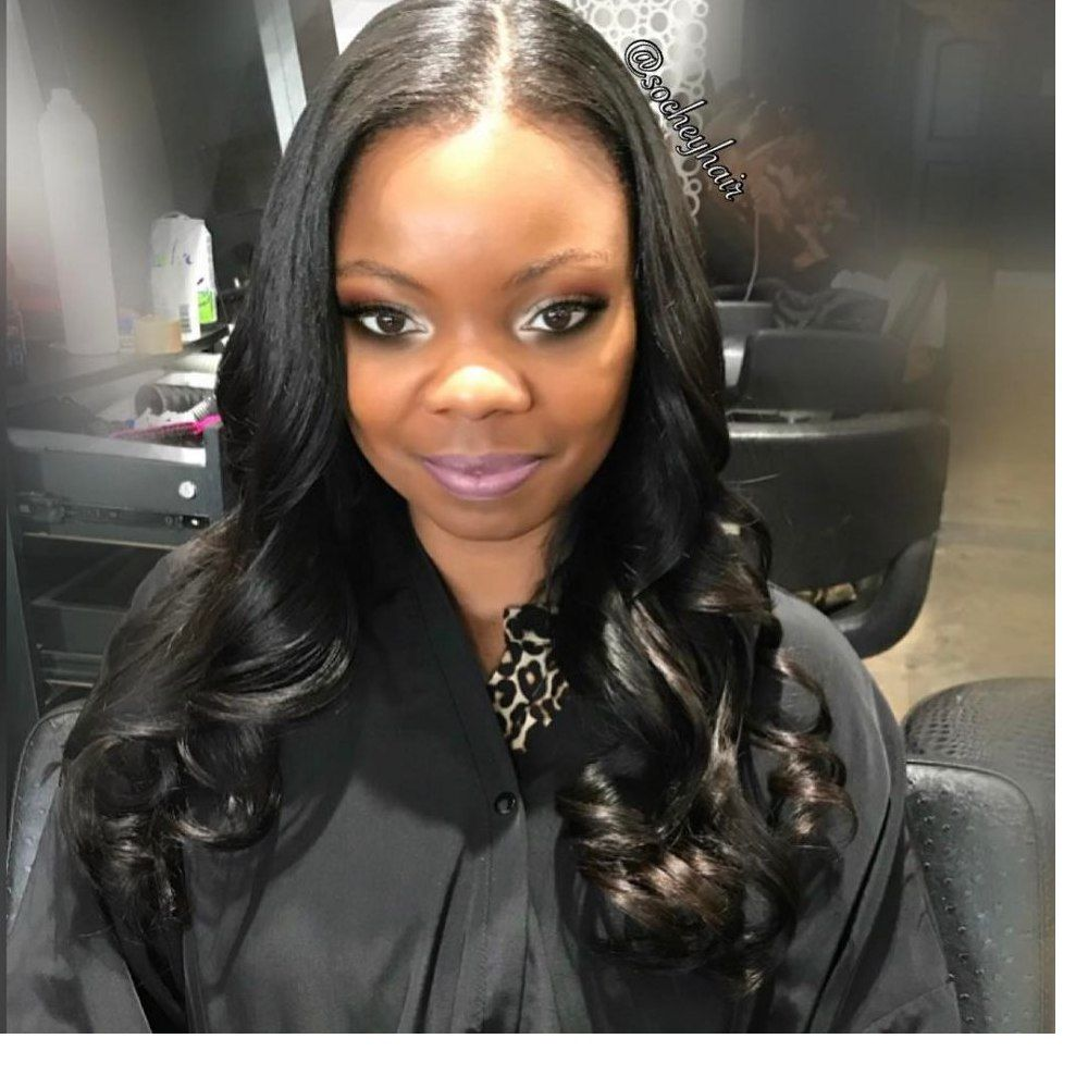 Elegant Long Black Hair Of Queens Women 2019 Gray Hair Style