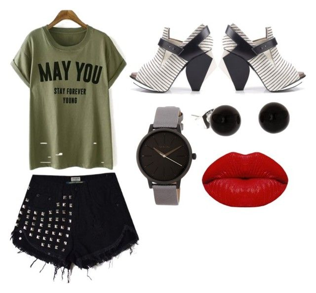 """""""Casual Weekend"""" by dorisfashion-martinez on Polyvore featuring Abcense, Nixon and Winky Lux"""