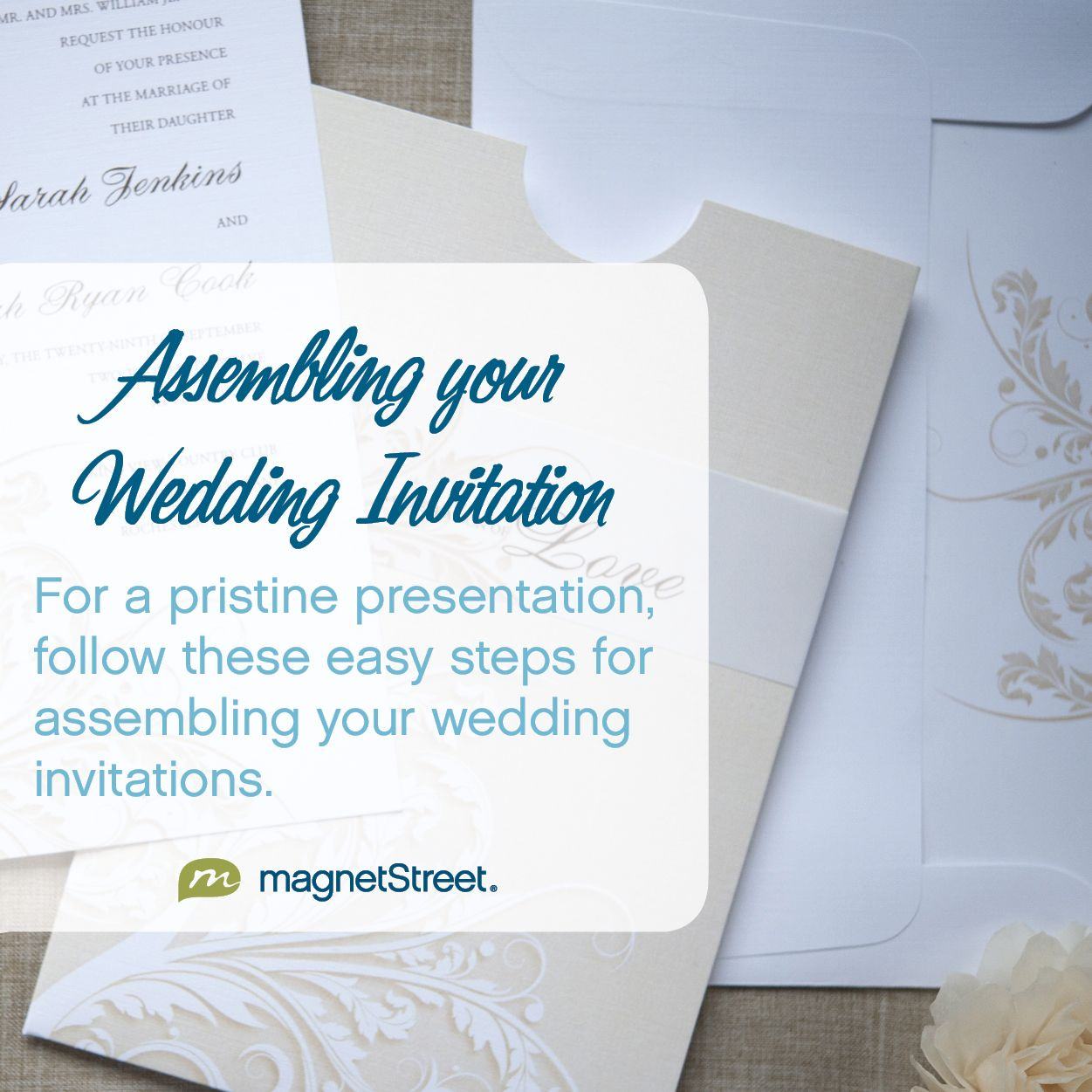 Wedding Invitation Assembly | Weddings, Wedding planning and Wedding