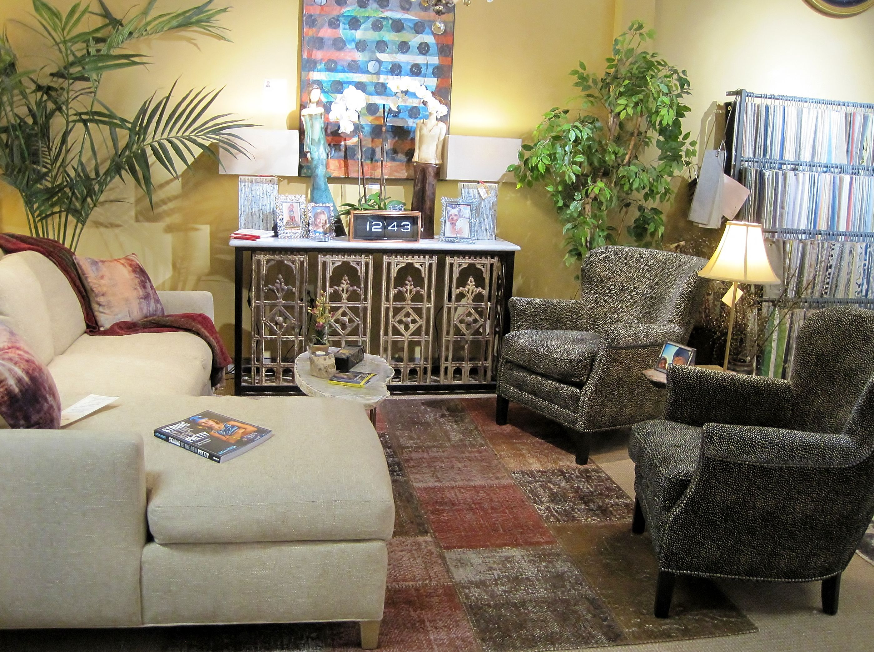 New and Vintage, LEE Industries Sectional Sofa and Chairs ...