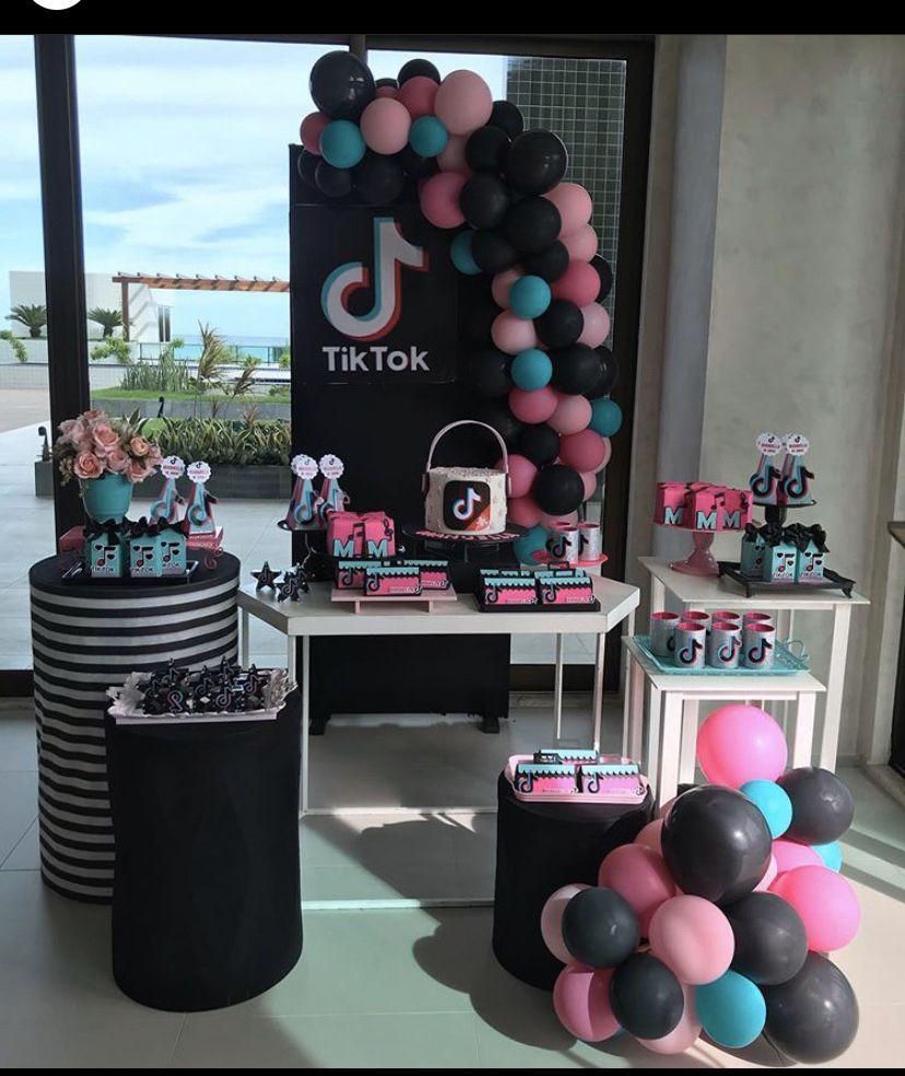 Tiktok Birthday Party Ideas In 2020 Sleepover Birthday