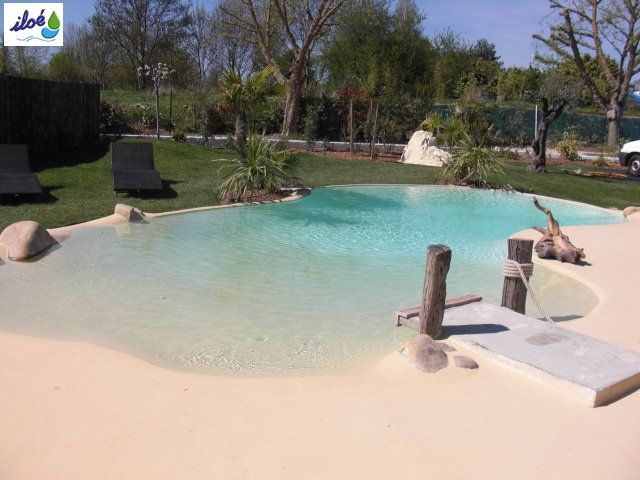 piscine sable maison piscine piscine coquillage et. Black Bedroom Furniture Sets. Home Design Ideas