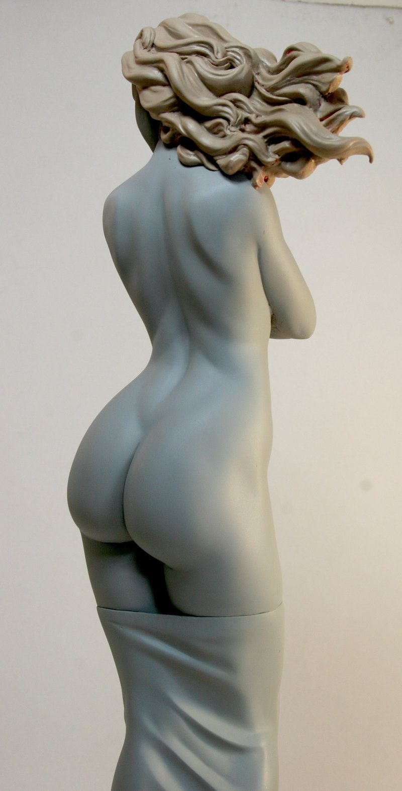 mujer 27 by ~rieraescultura-art on deviantART | Statues | Pinterest ...